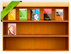 flip ebook bookcase