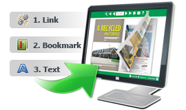 Keep PDF Hyperlink, Bookmark and Text